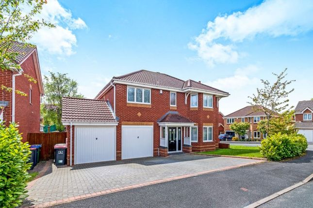 Thumbnail Detached house for sale in Hookacre Grove, Priorslee, Telford