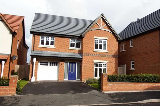 Thumbnail Detached house to rent in The Oaks, Mead Avenue, Scholar Green, Stoke-On-Trent