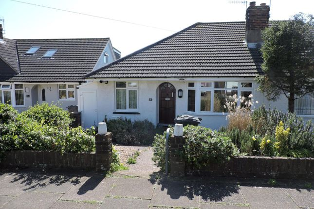Thumbnail Bungalow to rent in Summerdale Road, Hove