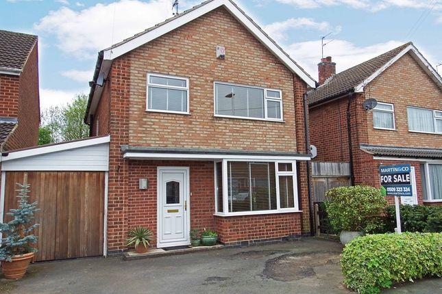 Thumbnail Link-detached house for sale in Balmoral Road, Mountsorrel, Loughborough