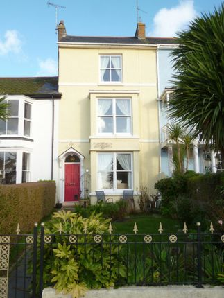 Thumbnail Terraced house for sale in Regent Terrace, Penzance