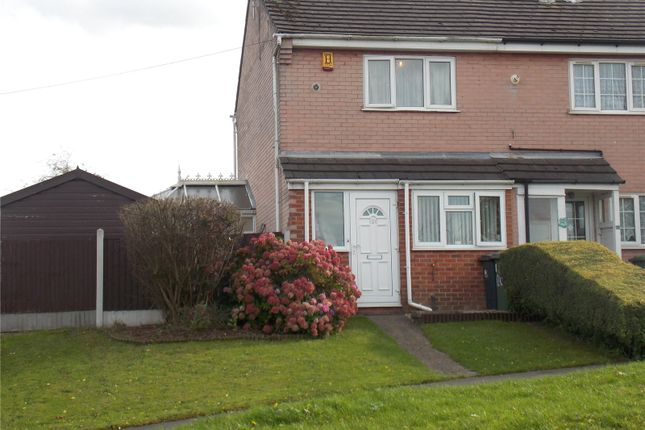 Thumbnail End terrace house for sale in Lady Lea Road, Horsley Woodhouse, Derbyshire