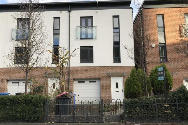Thumbnail Town house to rent in Alban Street, Broughton, Salford