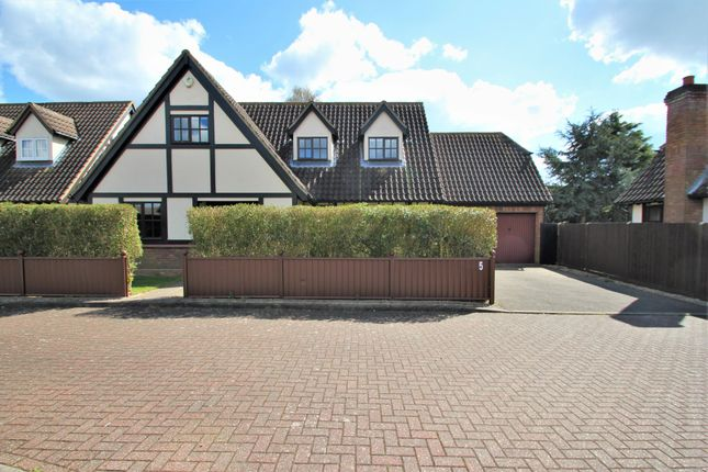 Thumbnail Detached house for sale in Clarkesmead, Tiptree, Colchester