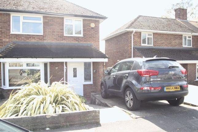 Thumbnail Semi-detached house to rent in Lindlings, Hemel Hempstead
