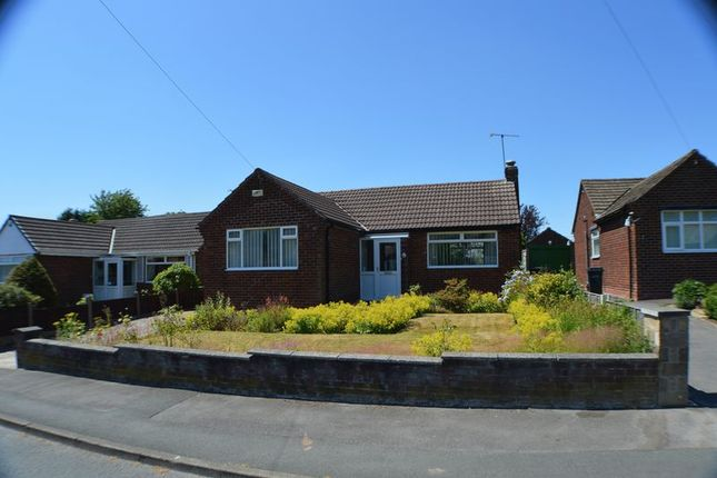 Thumbnail Detached bungalow for sale in St. Davids Avenue, Romiley, Stockport