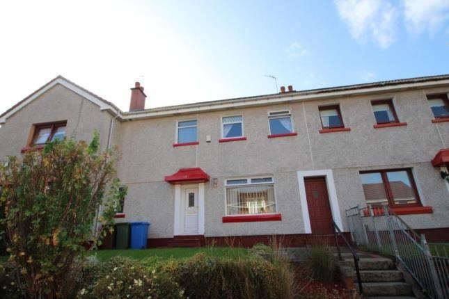 Thumbnail Terraced house for sale in Glenlora Drive, Glasgow, Lanarkshire