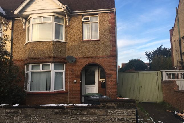 Thumbnail Semi-detached house to rent in Rosamond Road, Goldington