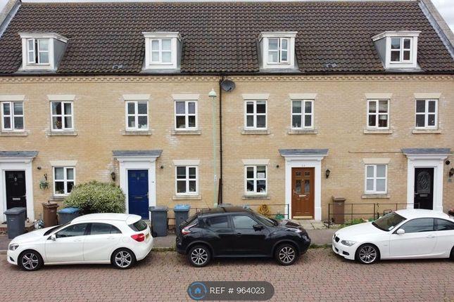 3 bed terraced house to rent in Peasey Gardens, Kesgrave, Ipswich IP5