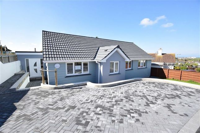 Thumbnail Detached bungalow for sale in Trevella Road, Bude