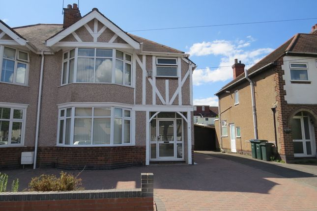 Thumbnail Semi-detached house to rent in Moseley Avenue, Coundon, Coventry