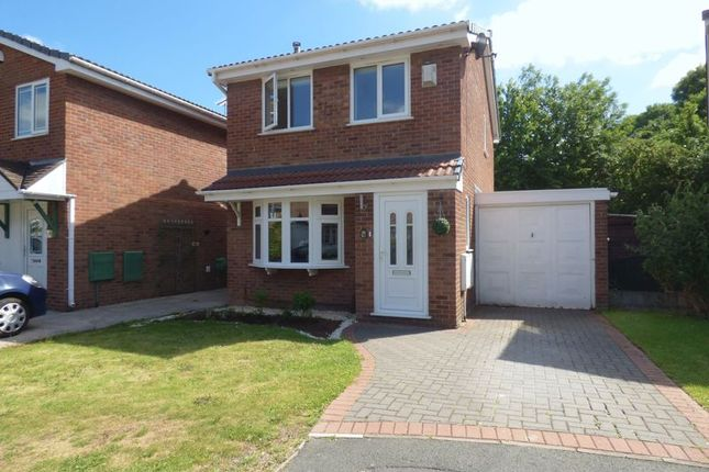 Thumbnail Detached house for sale in Morton Close, Old Hall, Warrington