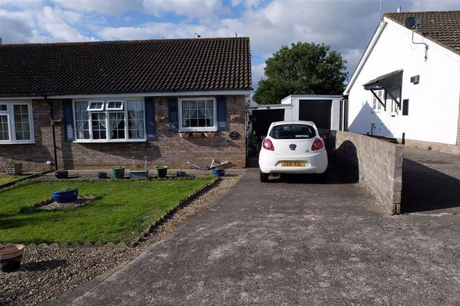 Thumbnail Semi-detached bungalow to rent in Heol Sirhwi, Barry, Vale Of Glamorgan