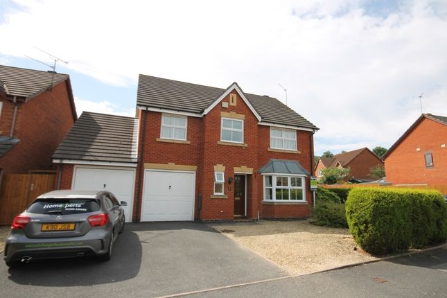 Thumbnail Detached house to rent in Carisbrooke Avenue, Warndon, Worcester