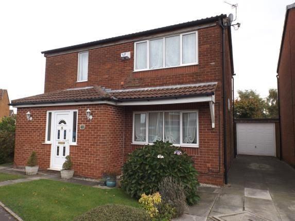 Thumbnail Detached house for sale in Broomfields, Denton, Manchester, Greater Manchester