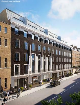 Office to let in Marble Arch House, Seymour Street, Marylebone, London, Greater London