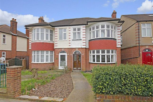 Thumbnail Semi-detached house for sale in Halstead Road, Winchmore Hill, London