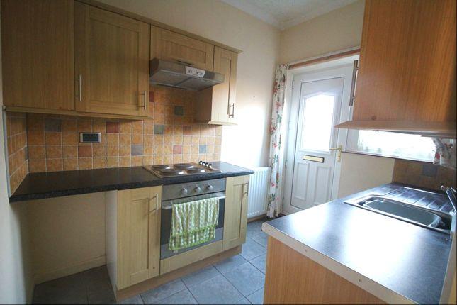 Kitchen of Eldon Bank, Eldon, Bishop Auckland, County Durham DL14