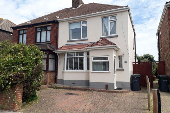 Thumbnail Semi-detached house for sale in Fisgard Road, Gosport