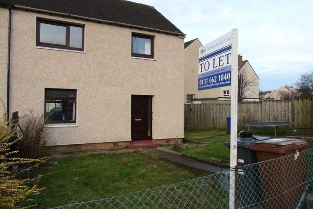 Thumbnail Semi-detached house to rent in D'arcy Road, Dalkeith, Midlothian
