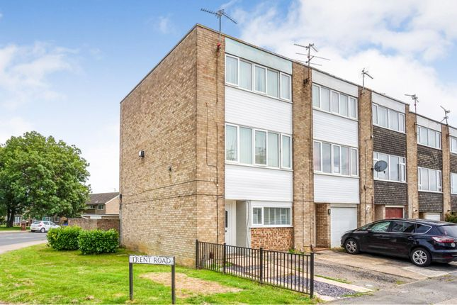 Thumbnail Town house for sale in Trent Road, Corby