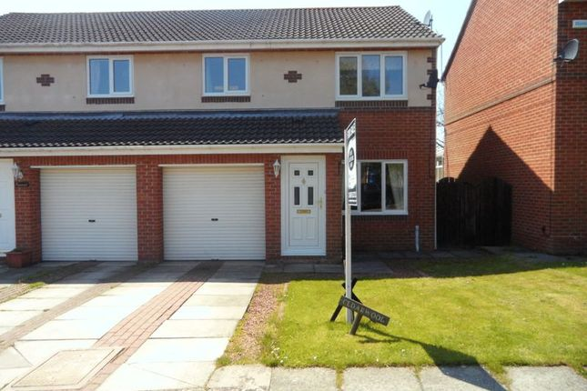 3 bed semi-detached house for sale in Church View, Longhorsley, Morpeth