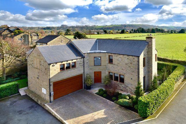 Thumbnail Detached house for sale in Jenkyn Gardens, Shepley, Huddersfield