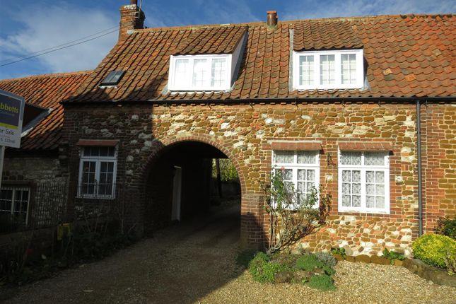 Thumbnail Cottage for sale in Hunstanton Road, Heacham, King's Lynn