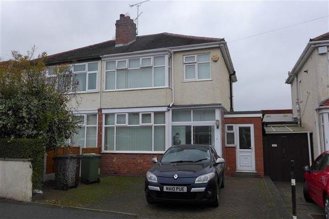 Thumbnail Property to rent in Blackburn Avenue, Tettenhall, Wolverhampton