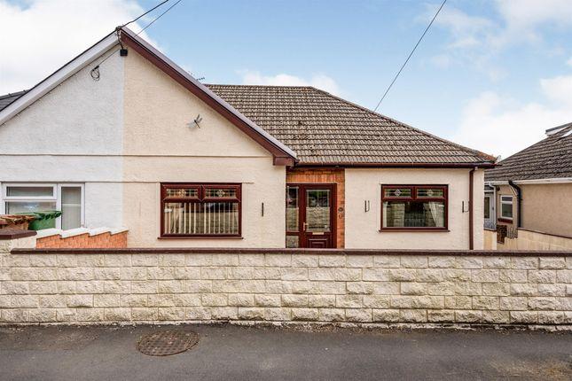 Thumbnail Semi-detached bungalow for sale in Brynmynach Avenue, Ystrad Mynach, Hengoed