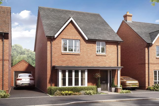"""Thumbnail Detached house for sale in """"The Oxford"""" at Boorley Green, Winchester Road, Botley, Southampton, Botley"""
