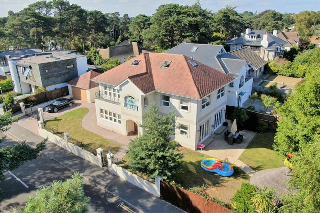 Aerial  (6) of Inverness Road, Canford Cliffs, Poole BH13
