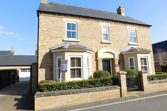 Thumbnail Detached house for sale in Faraday Gardens, Fairfield, Hitchin