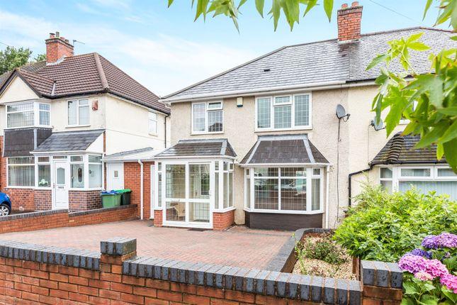 Thumbnail Semi-detached house for sale in Bernard Road, Oldbury