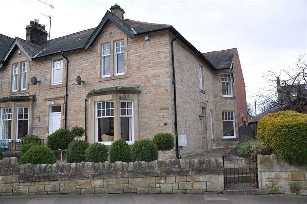 Thumbnail Semi-detached house for sale in Elvaston Road, Hexham