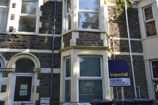 Thumbnail Flat to rent in 14, Ruthin Gardens, Cathays, Cardiff, South Wales