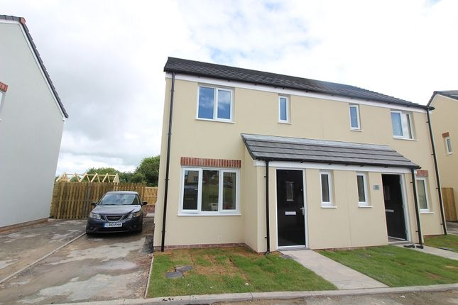 Thumbnail Semi-detached house to rent in 24 Turnberry Close, Hubberston, Milford Haven