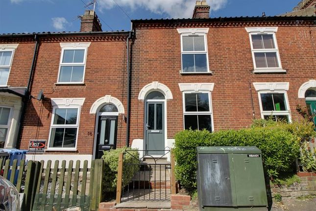 Thumbnail Terraced house for sale in Quebec Road, Thorpe Hamlet, Norwich