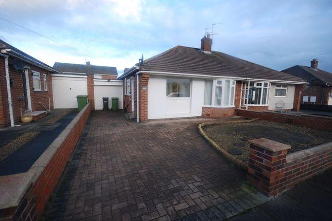 2 bed semi-detached bungalow for sale in Leander Avenue, Choppington NE62