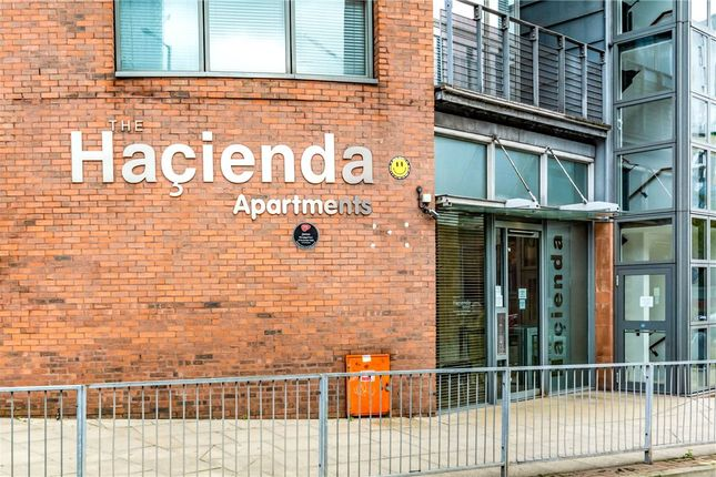 Entrance of The Hacienda, 11-15 Whitworth Street West, Manchester M1