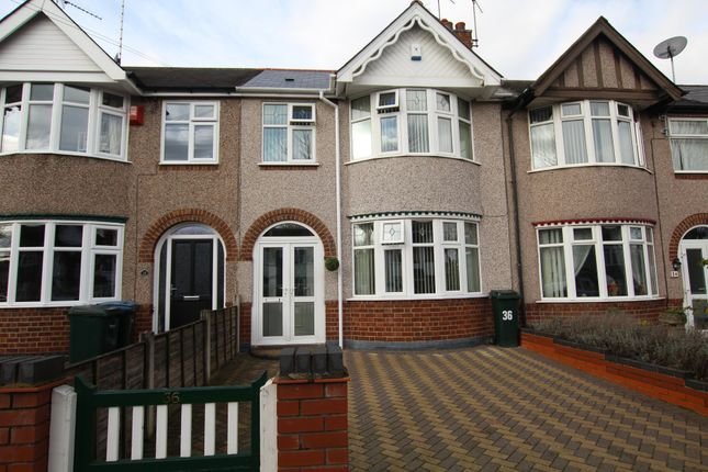 Thumbnail Terraced house to rent in Burns Road, Coventry
