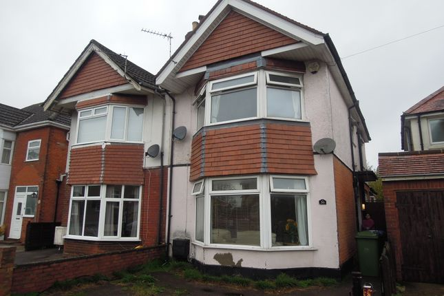 Thumbnail Semi-detached house for sale in Newlands Avenue, Shirley Southampton