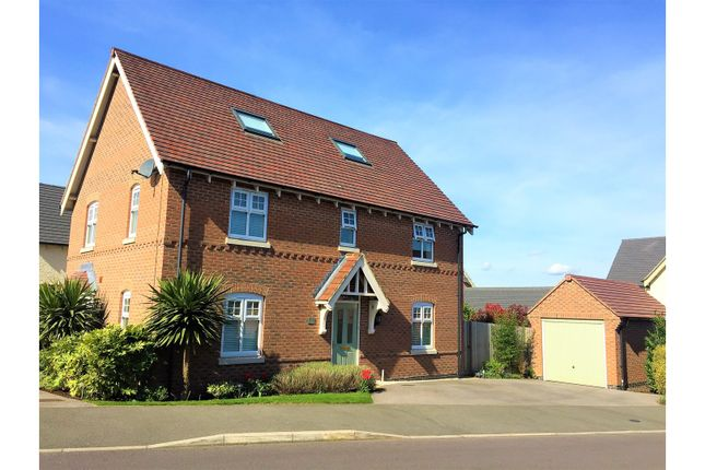 Thumbnail Detached house for sale in Reading Avenue, Church Gresley, Swadlincote