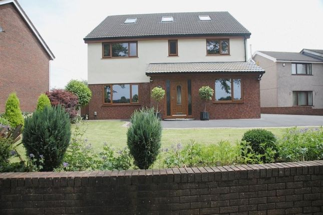 Thumbnail Detached house for sale in Heol Dulais, Birchgrove, Swansea