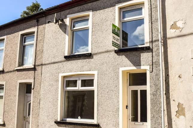 Thumbnail Terraced house to rent in Parry Street, Tylorstown