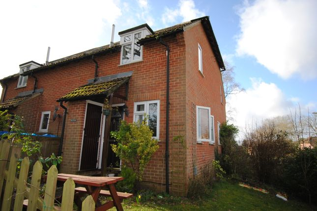 Thumbnail Detached house to rent in Hawkwell, Church Crookham, Fleet