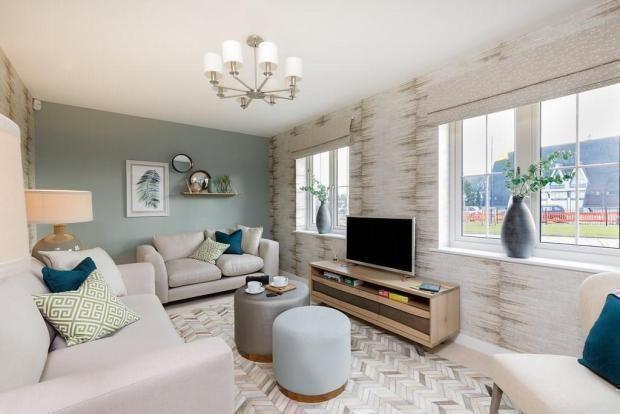 Living Room of London Road, Binfield RG12