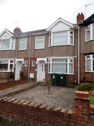 Thumbnail Terraced house to rent in Clovelly Road, Coventry