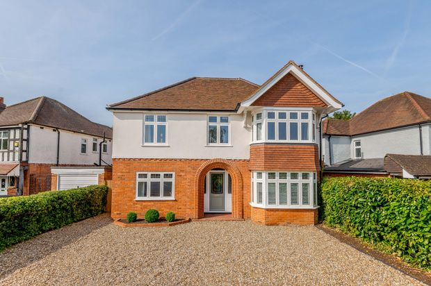 Thumbnail Detached house for sale in Woodcote Road, Reading