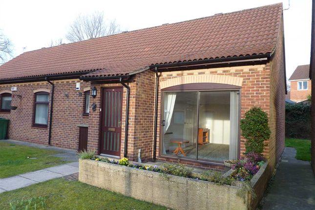 Thumbnail Semi-detached bungalow for sale in Clare Court, Cambridge Retirement Park, Grimsby